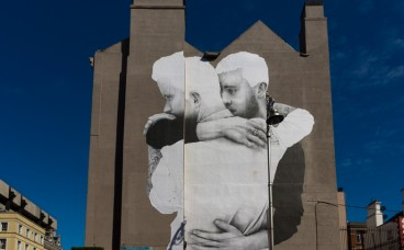 A mural in Dublin by Joe Caslin via Flickr