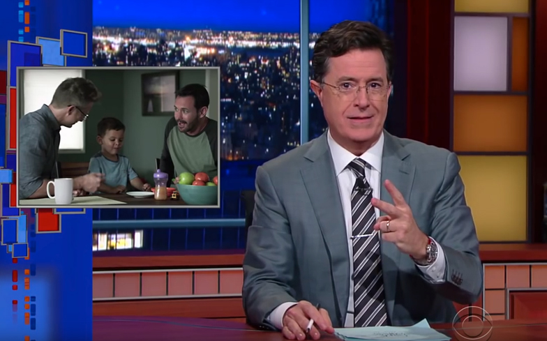 Colbert Gay Marriage Commercial 70