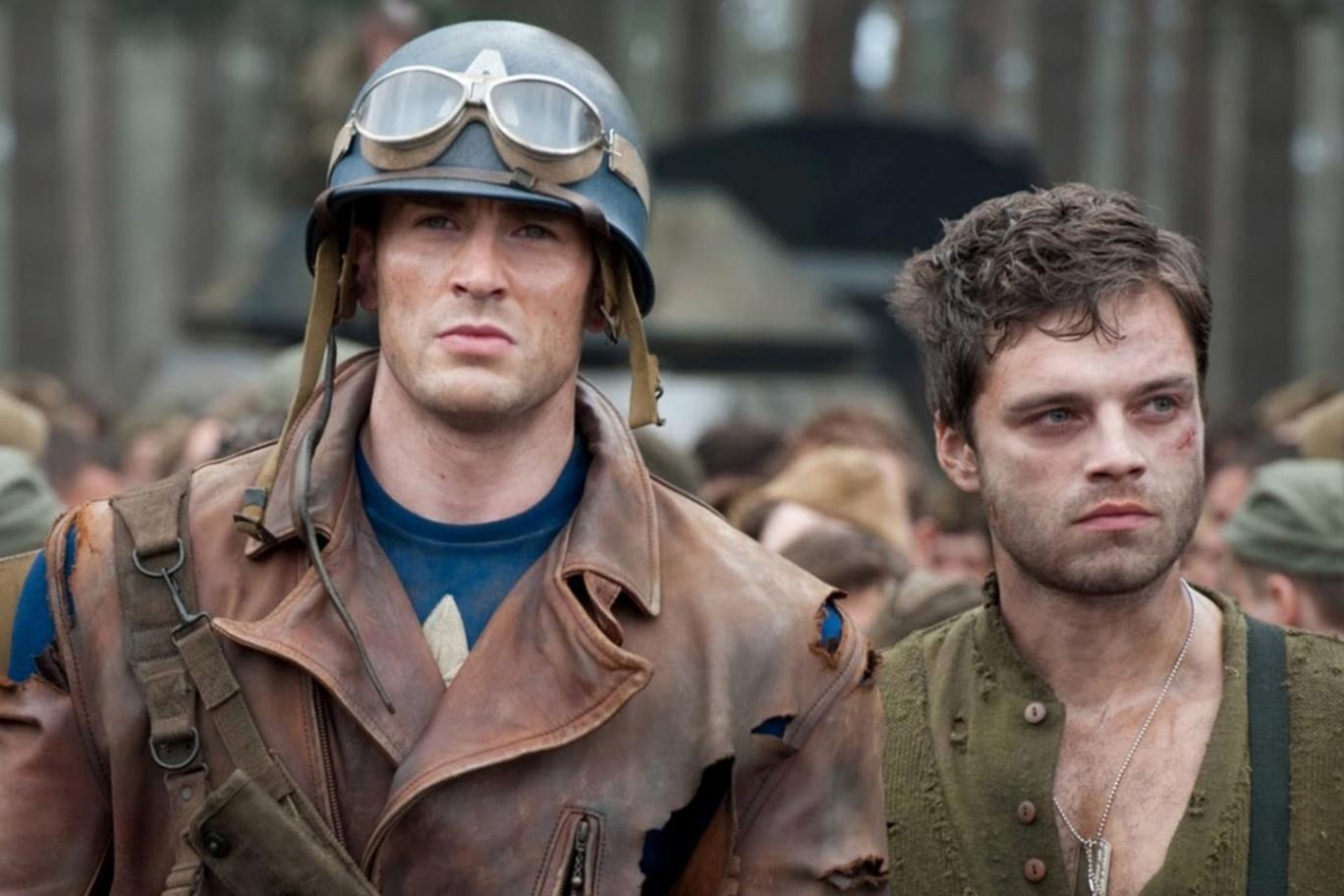 Captain America Bucky Gay