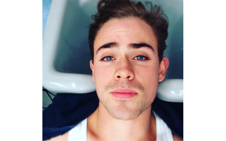 Instafitty Of The Week Dacre Montgomery Gay Times
