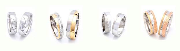 Finding The Right Pair In Gay Men S Wedding Rings