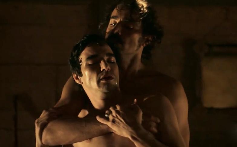 Male sex scenes