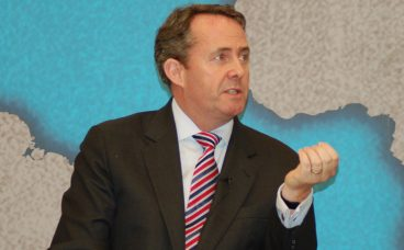 International Trade Secretary Liam Fox via Flickr