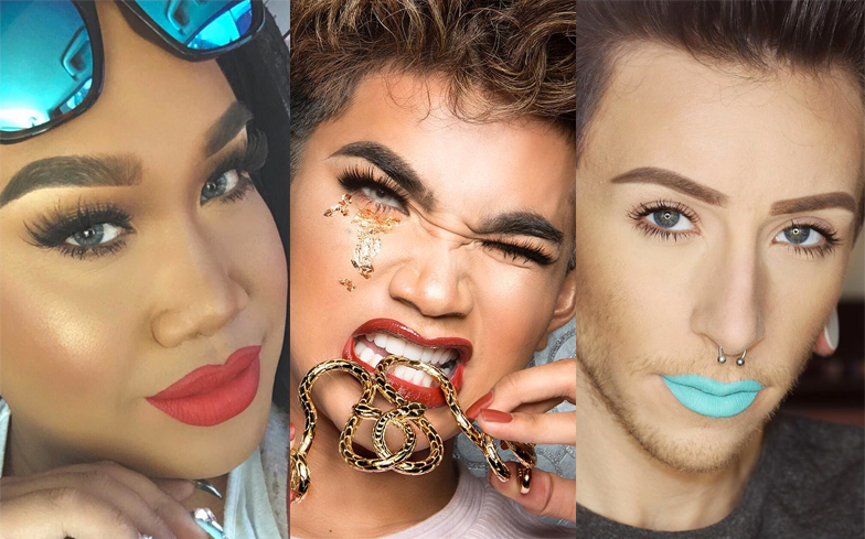 10 of the best male make up artists on Instagram right now