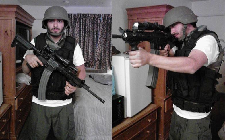 Vegas man accused of video post threatening terror attack