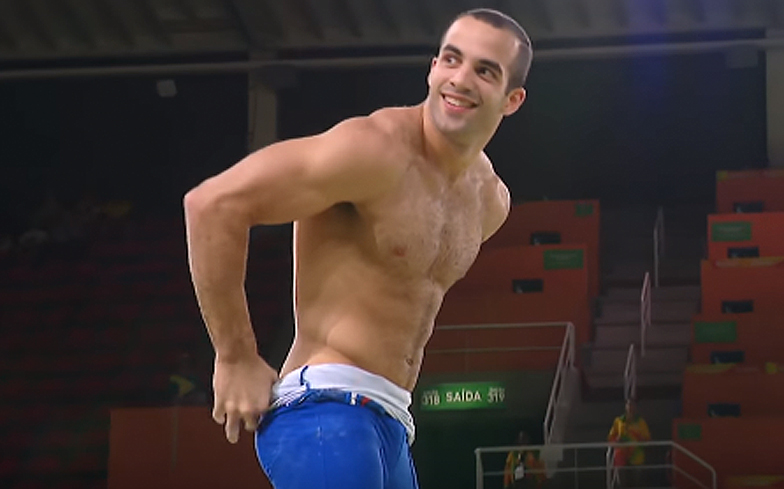 Gay gymnast video