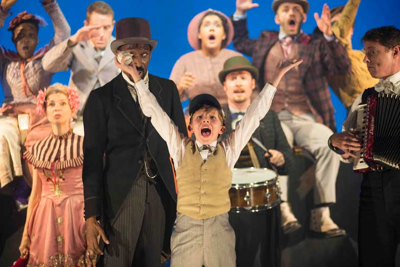 a review of a production of ragtime