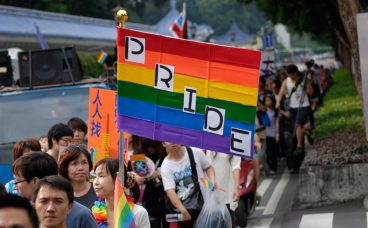 Same-sex couples can now apply to get married in Taiwan's capital Taipei