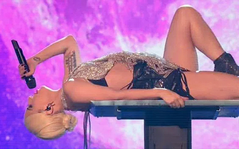 Lady Gaga wows The X Factor with 'Million Reasons' performance
