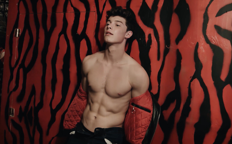 Shawn Mendes shows off his abs for Flaunt magazine - Gay Times