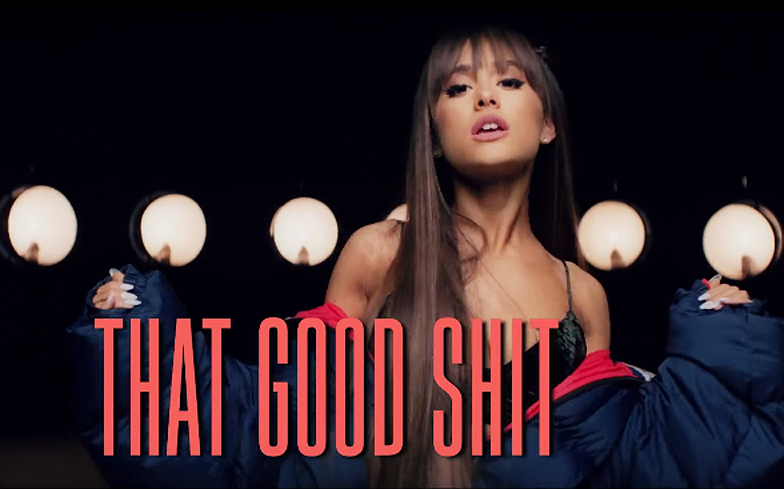 ariana grande just dropped the most adorable lyric video