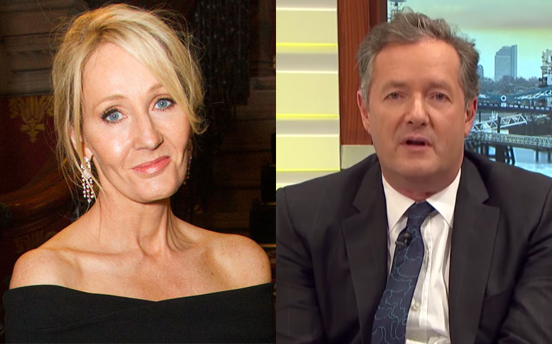 Piers Morgan And Son Get Into Awkward Twitter Fight Over JK Rowling