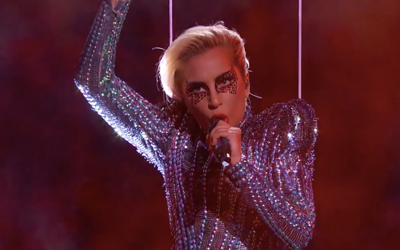 Was Lady Gaga S Super Bowl Halftime Show Jump A Perfect