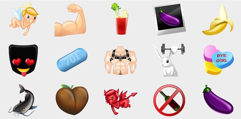 Las nuevas emojis de Grindr te harán amars aún más la app
