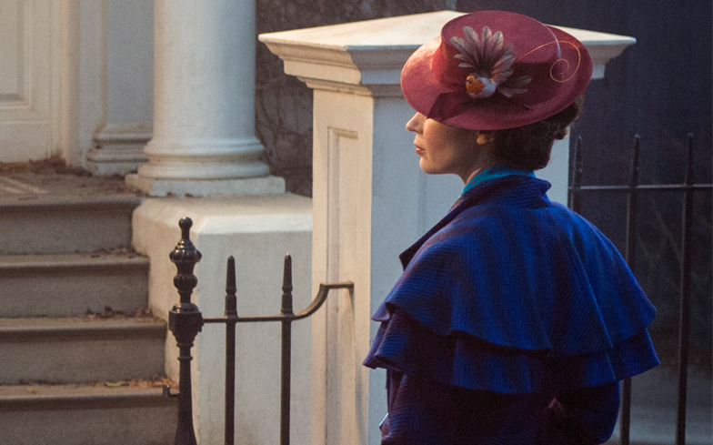 Here's the First Look at Emily Blunt Playing Mary Poppins