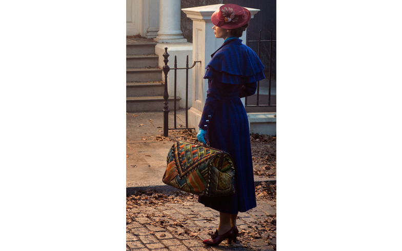 Here's Your First Look at Emily Blunt in Disney's 'Mary Poppins Returns'