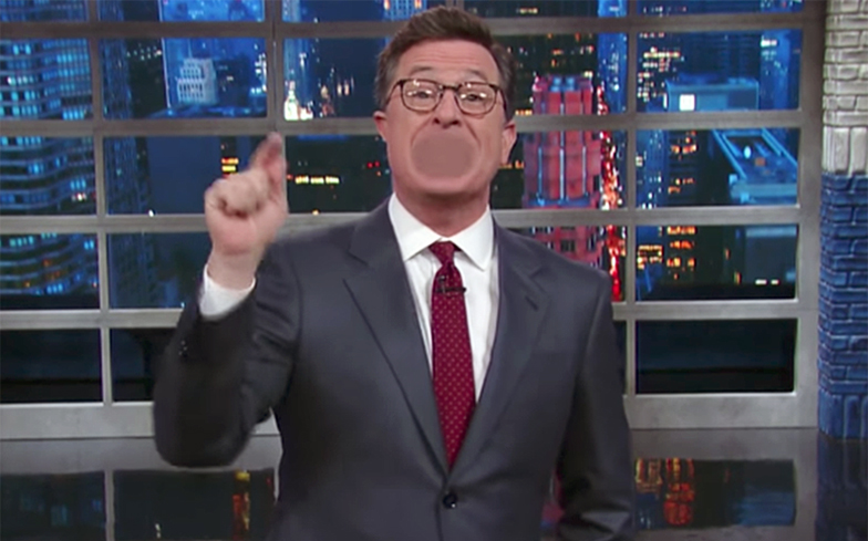 Stephen Colbert's Trump-Putin joke received more than 5000 complaints