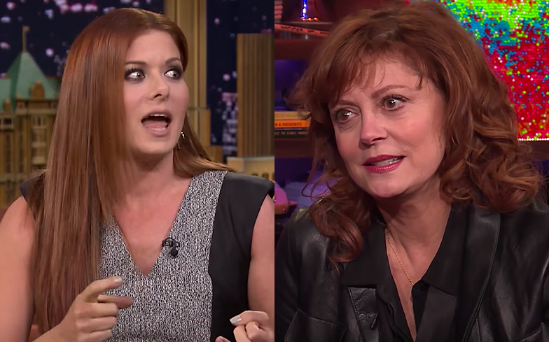 Susan Sarandon vs. Debra Messing Is Almost Better than Feud
