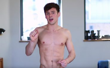 Tom daley xposed in gym locker room happens