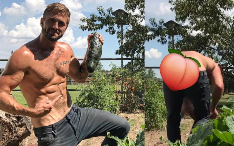 Gardener gay porn