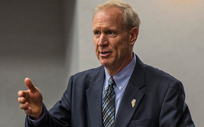 Rauner says he will amendatory veto IL  school funding bill