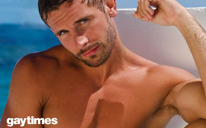 Hot gay the stud delivers towels as 5
