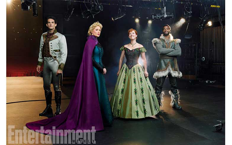 'Frozen' musical cast showcases costume for the first time