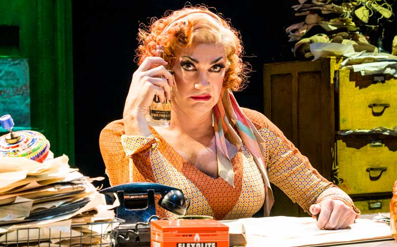 sc 1 st  Gay Times & Craig Revel Horwood to play Miss Hannigan in West Endu0027s Annie