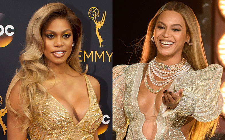 Beyoncé and Laverne Cox are working together on something special