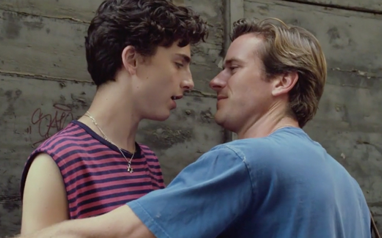 Call Me By Your Name wins BAFTA for Best Adapted Screenplay