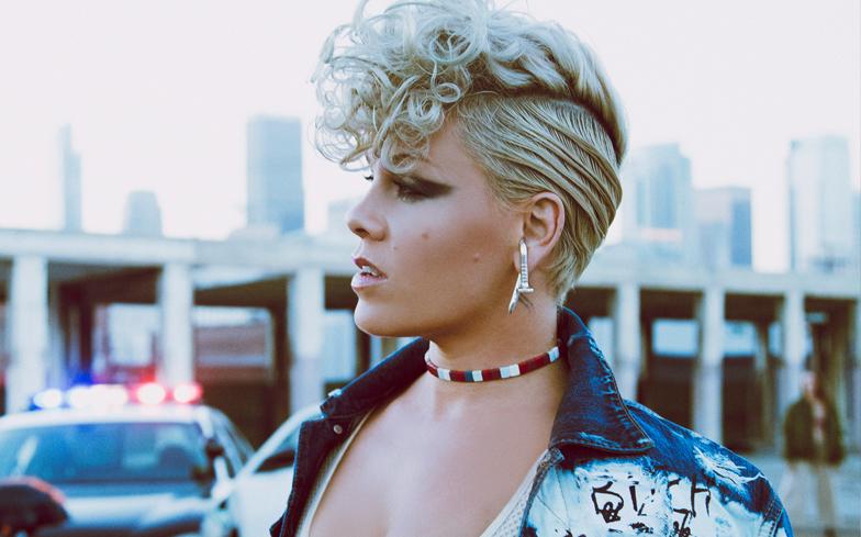 Pink's a Skyward Rocket on Weightless 'What About Us'