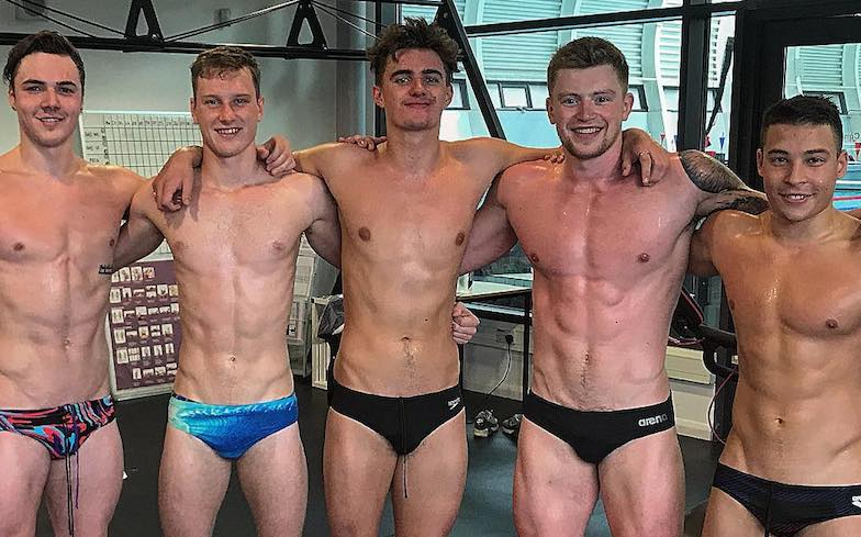 Gay swimmer boys sex first time he 3