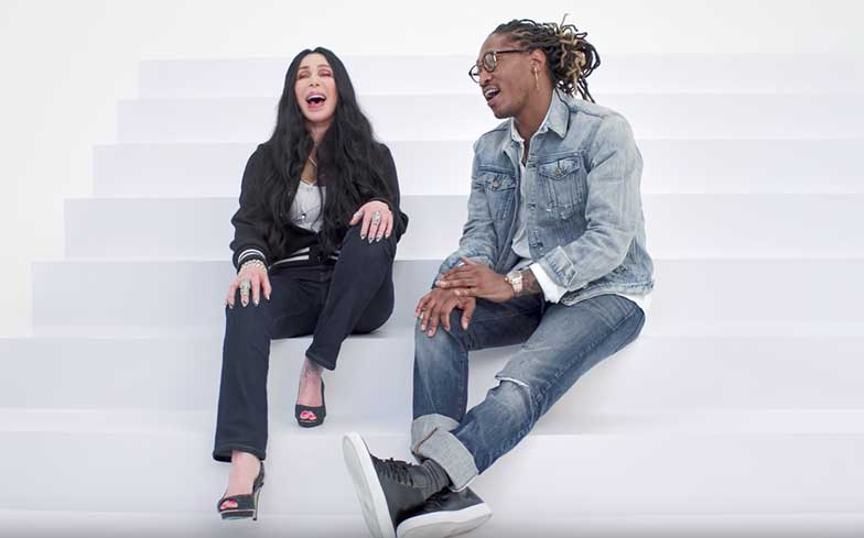 Future and Cher team up for Gap fall campaign