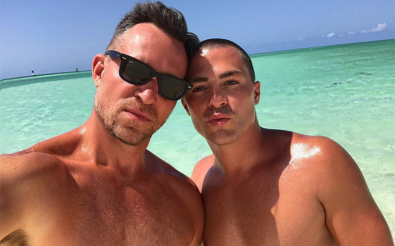 Colton Haynes and Jeff Leatham's divorce is back on