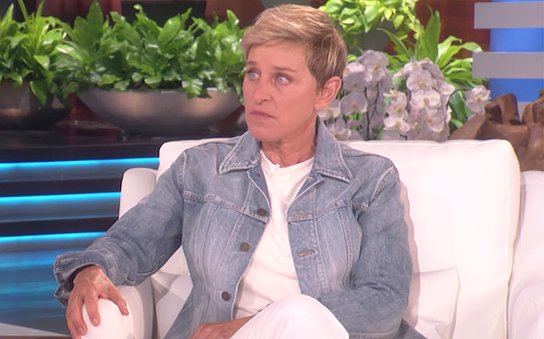 Ellen was forbidden from discussing her lesbian relationship on her talk show