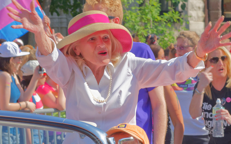 Same-sex marriage legend Edith Windsor dies at 88