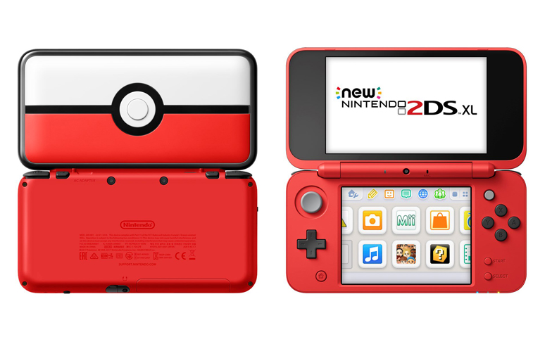 This new pok ball nintendo 2ds xl is going straight on the for Housse 2ds xl pokemon