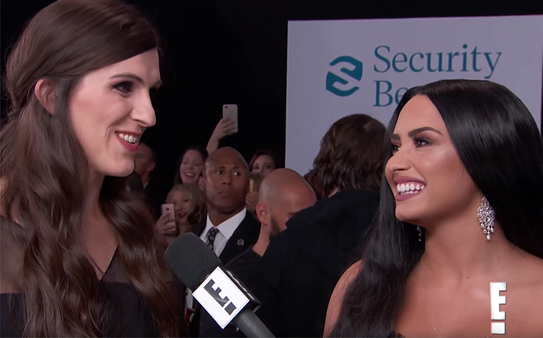 Demi Lovato Brings Transgender Virginia Lawmaker Danica Roem to 'American Music Awards'