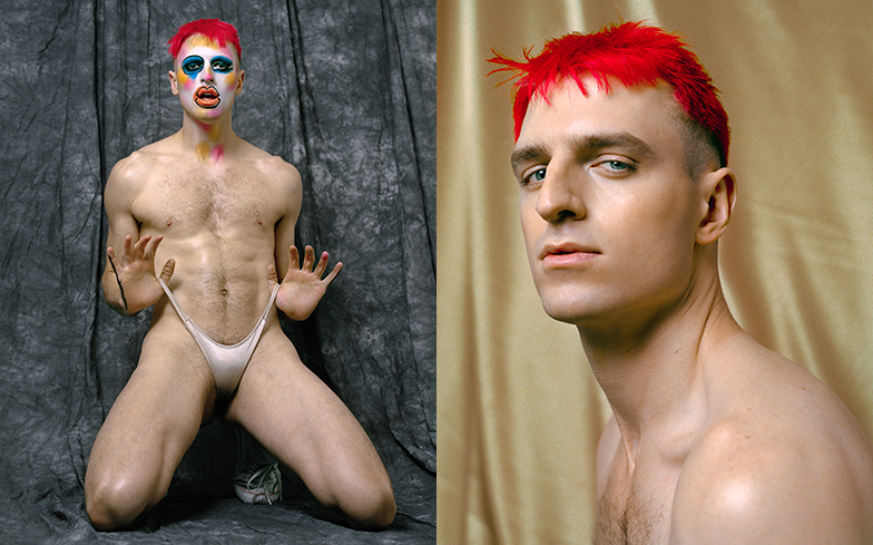 Drag Race star Milk strips to a thong for steamy Gay Times photoshoot