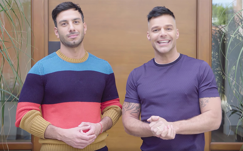Newlyweds ricky martin and jwan yosef show you around their home newlyweds ricky martin and jwan yosef take you around their home m4hsunfo