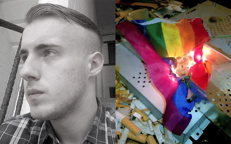 Neo-Nazi convicted after plans for gay pride 'slaughter'