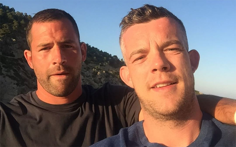 Russell Tovey just got engaged to this super hot rugby player