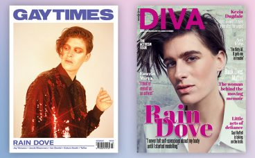 Rain Dove for Gay Times and DIVA