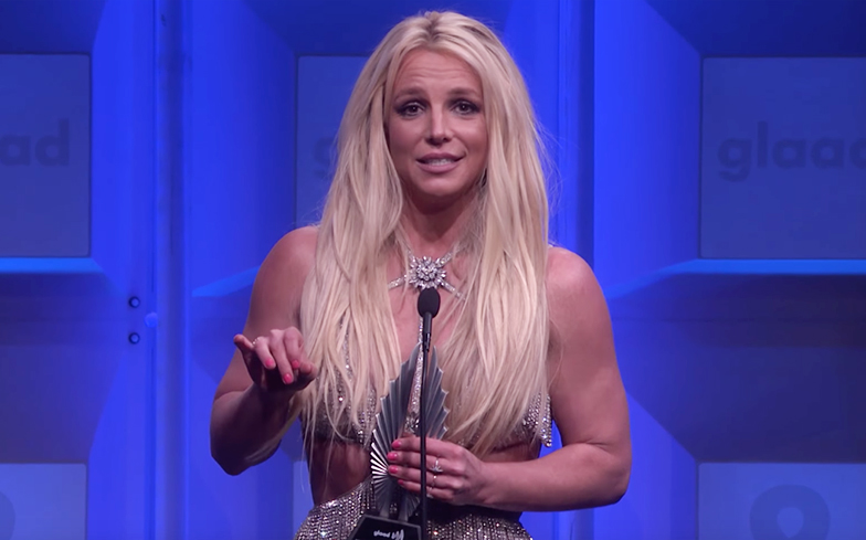 Britney spears uaing a dildo and