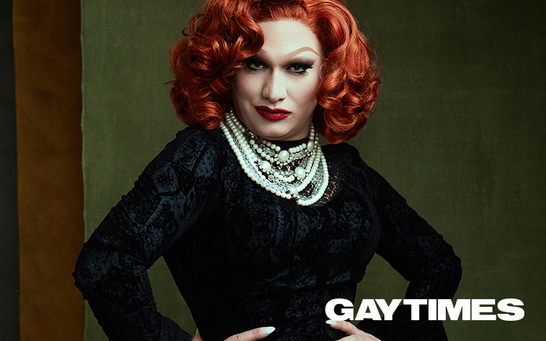 Jinkx Monsoon for Gay Times June 2018