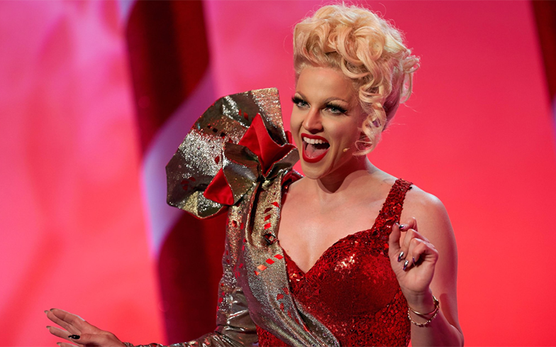 Here's when you can watch Courtney Act's upcoming Christmas special