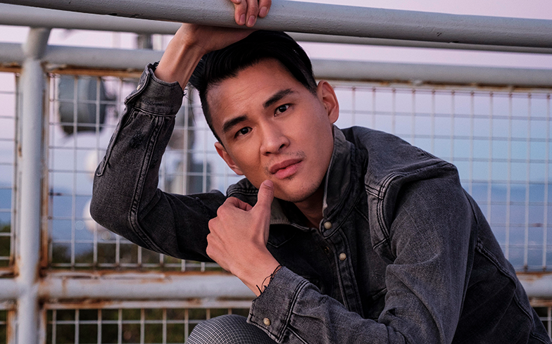 Hank Chen on working with Tyra Banks and being an openly gay actor in Hollywood