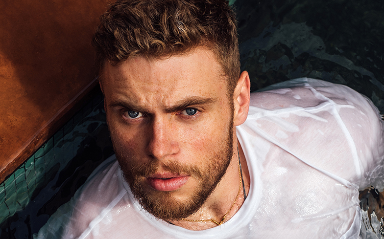 "Gus Kenworthy tells bigots angry at Pride flag to ""stay the f*ck at home"""
