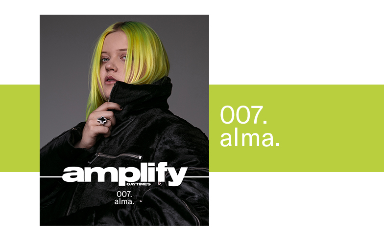 ALMA is ready to be the queer female popstar she always wanted to see