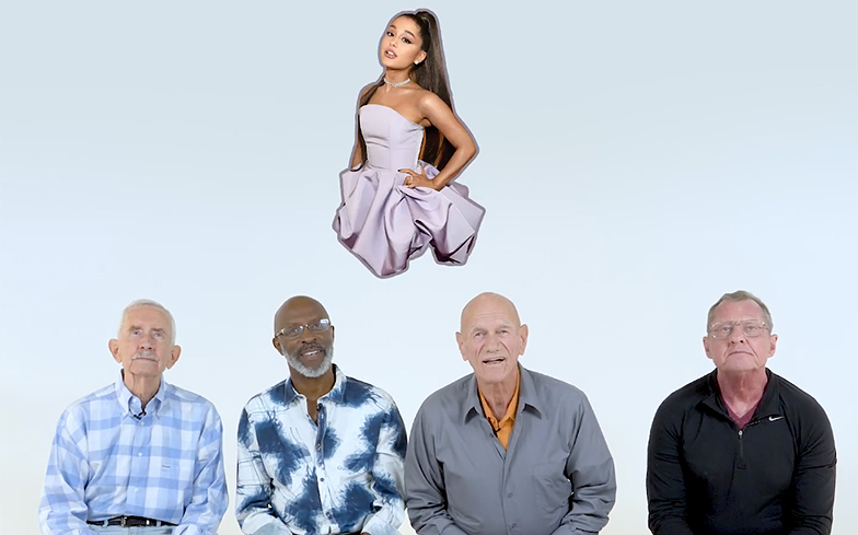 Can these older gay men identify your favourite pop divas?